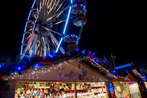 Kerstmarkt Van Luik
