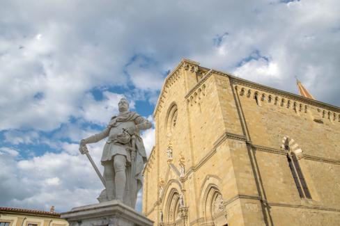 Ontwerper Toren Van Pisa.Arezzo