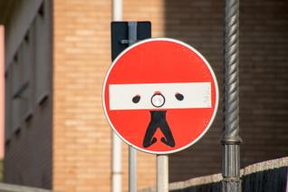 verboden Italiaans rijden
