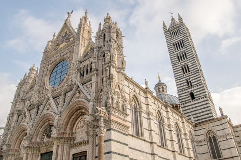 Kathedraal Van Siena.Kathedraal Van Siena