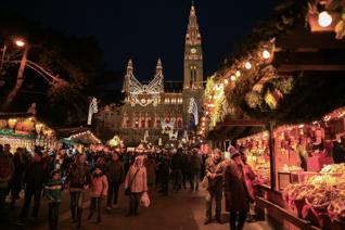 Kerstmarkten Van Wenen
